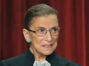 Ruth Bader Ginsburg has spent a career advocating for the right to choose. Image courtesy of www.outsidethebeltway.com.