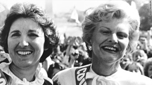 Betty Ford with Eleanor Smeal in 1981. Courtesy of CNN.com.