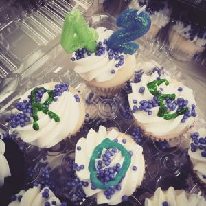 We delivered cupcakes to pro-choice champions in Olympia yesterday to celebrate the anniversary of Roe v Wade.